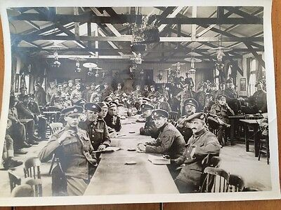 Official Military War Photo Western Front British Soldiers