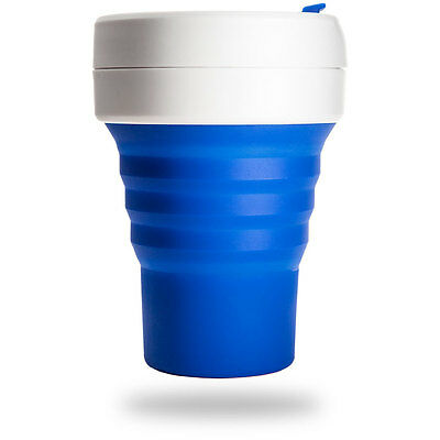 NEW Reusable Coffee/Tea Cup Leak Proof Collapsible Travel Mug