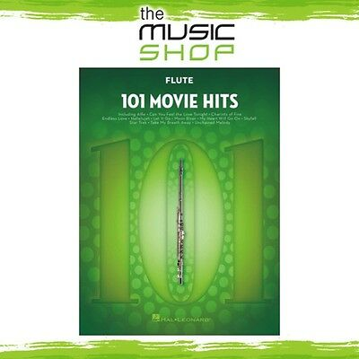 New 101 Movie Hits for Flute Music Book - Instrumental Solo Songbook