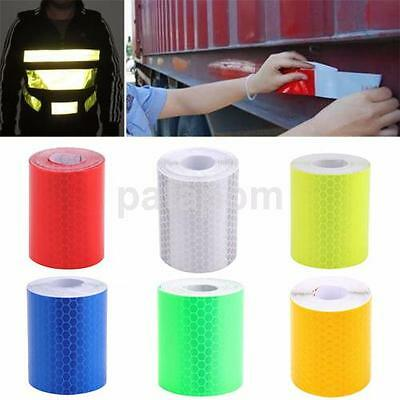 3M Multicolor Car Reflective Safety Warning Conspicuity Roll Tape Film Sticker A