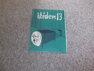 Ibidem 13 color  Issue