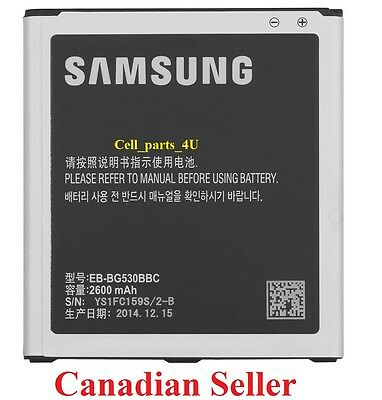 Brand New  EB-BG530BBC 2600mAh Battery For Samsung Galaxy Grand Prime G5308