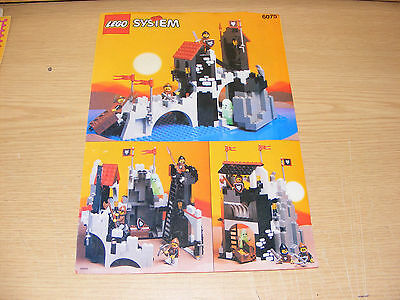 LEGO 6075 Wolfpack Tower Castle Instruction Manual