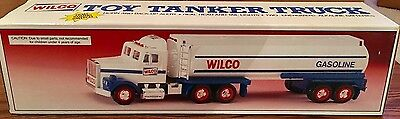 VINTAGE 1991 WILCO TOY TANKER Truck NEW IN BOX NIB LIGHTS+SOUNDS HORN hess