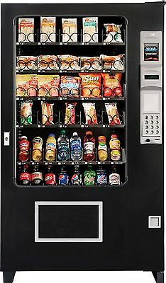 Bottle/Food Combo Vending Machines Made By A M S Brand New (MADE IN AMERICA)