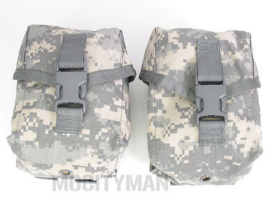US Military ACU M249 SAW Gunners Pouch - Lot of 2 - 100 Round - USA Made - NEW