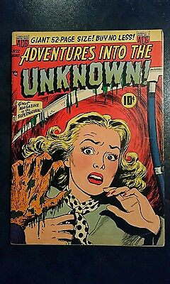Adventures Into The Unknown #22 (ACG, 1951) Condition: Approx. VG.....