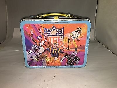 Nfl Lunchbox Lunch Box W/thermos.   177-S