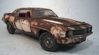 1969 Chevrolet Chevy Camaro Z/28 Weathered Barn Find Muscle Car Custom M2 1/24