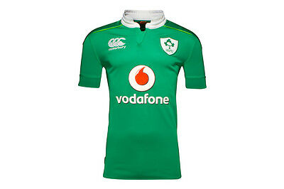 Ireland Mens IRFU 2016/17 Home Pro S/S Rugby Shirt - Same day dispatch