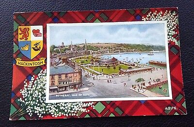 Postcard: (A2176): Rothesay: Isle Of Bute: Colour: Un Posted
