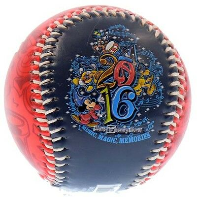 Disney Baseball 2016 Walt Disney World Official Logo Collectible New