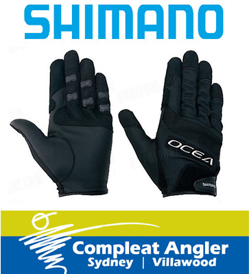 Shimano Ocea Jigging Gloves Pair Large BRAND NEW At Compleat Angler