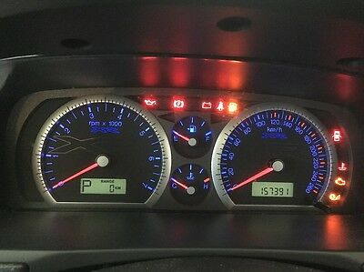 Ford Falcon Instrument Cluster Ba, Xr Low Series 157391 Kms
