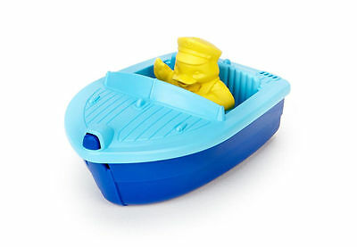 Blue Launch Boat by Green Toys