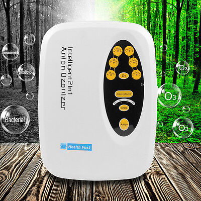 Special 2in1Air Purifier Cycle Anion Ozonizer Ozonator Ionizer Disinfector Ozone