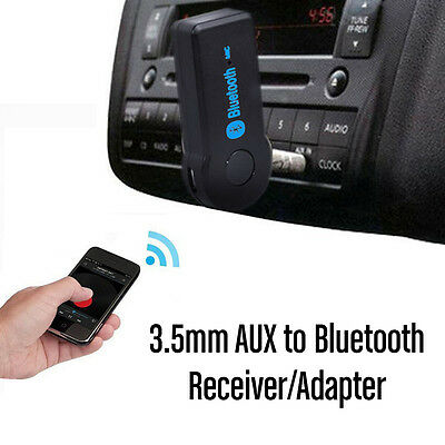 Car 3.5mm to Bluetooth AUX Audio Stereo Music Home Car Receiver Adapter Wireless