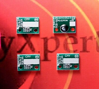 OFFER 4 x Drum Reset Chips Bizhub C224 C284 C364 C454 C554 &Develop CMYK DR512