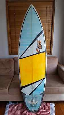 Surfboard DHD 6'2 Thruster