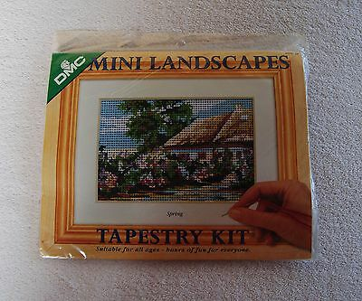 DMC TAPESTRY KIT Mini Landscapes 'Spring' with yarns NEW