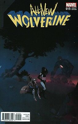 All New Wolverine #15 Bengal Connecting C Variant Marvel Comics 12/7/16