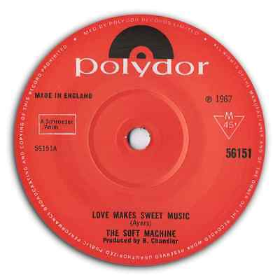 """THE SOFT MACHINE - """"Love Makes Sweet Music"""" PSYCH BEAT STOMPER - HEAR IT"""