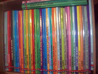 Collection of 67 Books Disney Wonderful World of Reading (See Description)