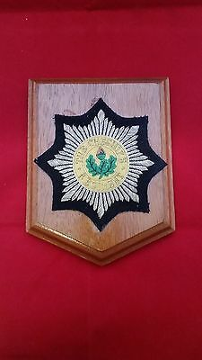 THE CHESHIRE REGIMENT BRITISH ARMY Oak Plaque Wall Shield Crest Badge