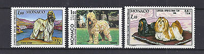 MONACO stamps in MNH condition all showing DOGS