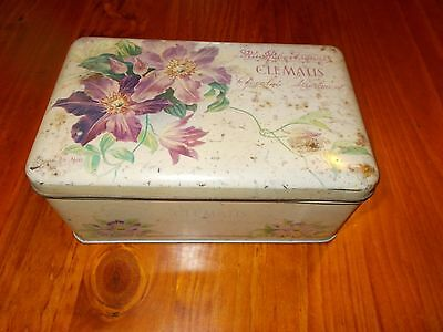 collectable old tin