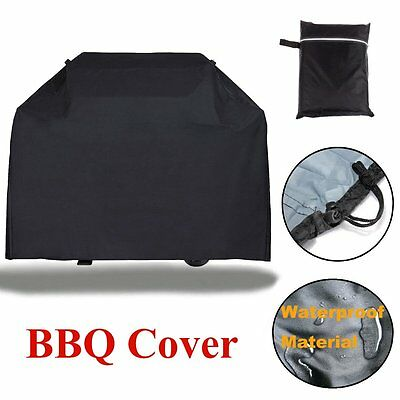 Large Patio BBQ Cover Heavy Duty Waterproof Rain Snow Barbeque Grill Protector