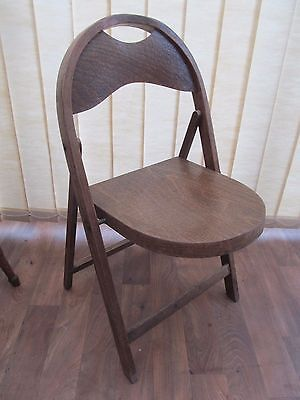 Bentwood Folding Chair Stoe Made in Yugoslavia Vintage Antique Furniture