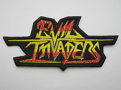 EVIL INVADERS embroidered NEW patch speed metal