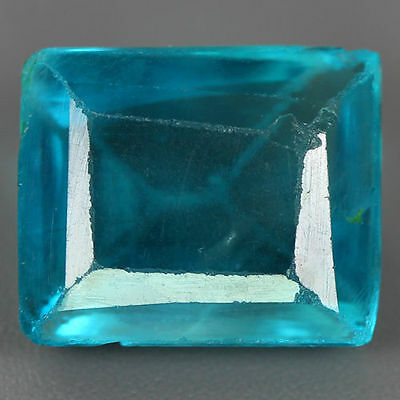 9.160  Ct GENUINE NATURAL HI END ULTRA RARE BLUE GREEN FLUORITE UNHEATED GEM AAA