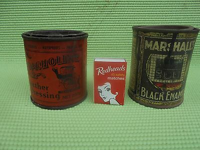 old collectable tin