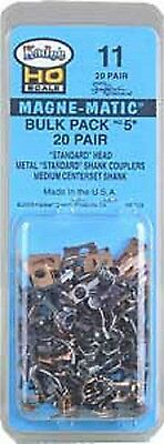 Kadee Magnetic Couplngs Bulk Pack Of 20 Pairs No 5 Coupling Ref No 11