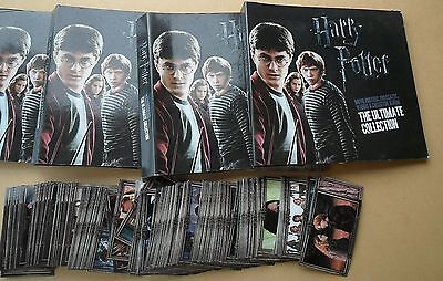 Harry Potter Ultimate Collection X 350 Cards 4 Albums Good Condition