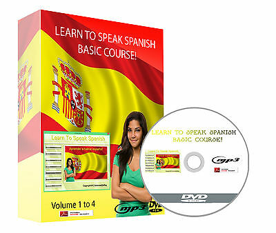 Learn To Speak Spanish - Complete Language Training Course Software DVD
