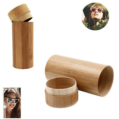 Handmade Vintage Bamboo Sunglasses  Wooden Frame Glasses Box Wood Case