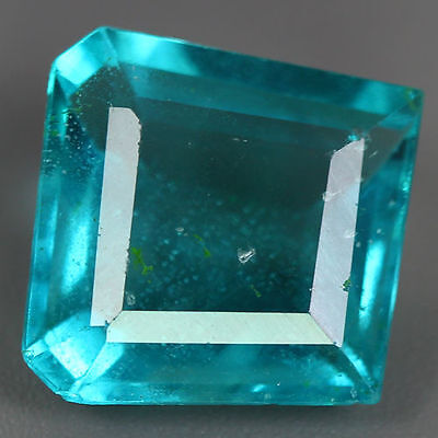 8.010 Ct GENUINE NATURAL HI END ULTRA RARE BLUE GREEN FLUORITE UNHEATED GEM AAA