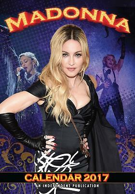 Madonna 2017 Large Poster Wall Calendar New & Sealed Free Uk Postage !!