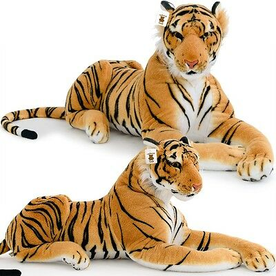 XXL Plush Tiger Kids Toys Extra Large Stuffed Animal Silky Soft Toy Games Gift