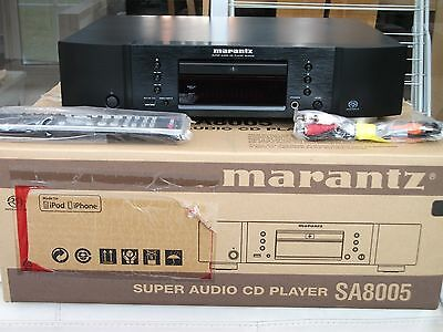 Marantz Sa8005 Cd Player Immaculate In Black 10 Months Old With Receipt
