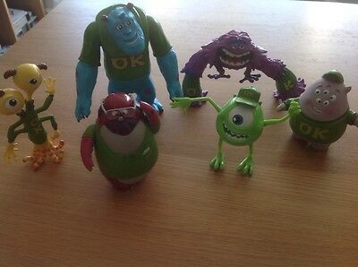 MONSTERS INC. UNIVERSITY Figures - Bundle of 6 Figures