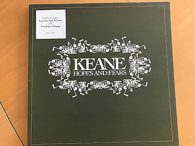 KEANE Hopes and Fears org. LP Numberd Edition 2004 Pretty RARE! nice Condition