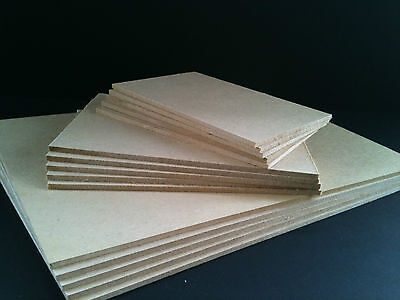 3.2mm MDF Ready cut sizes Packs of 10