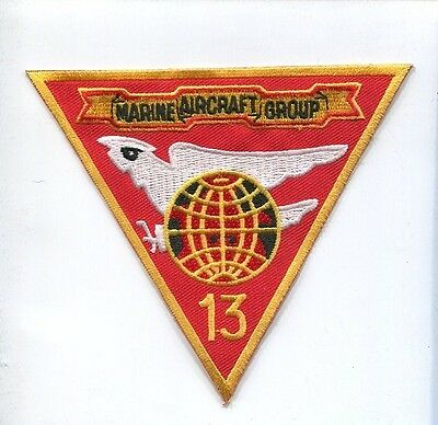 MAG-13 MARINE AIR GROUP 13 USMC Squadron Jacket Airwing Patch