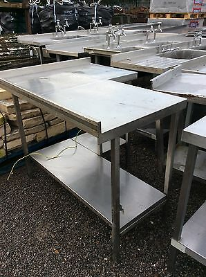 Commercial Catering Table Top / Work Bench / L Shape