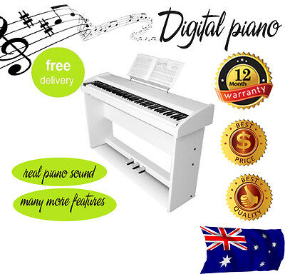 MELODIC 100 Rhythm 88 Standard Digital Piano White