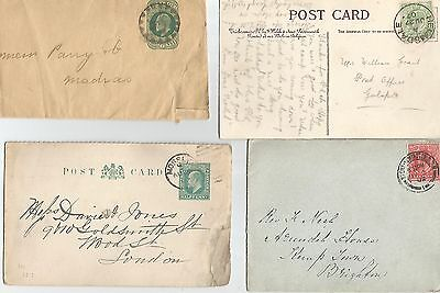 King Edward Vii Seven Covers/wrappers/cards Various Ref 137